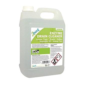 2 WORK 470 Tfn enzima Mantenedor de drenaje, 5 L: Amazon.es ...