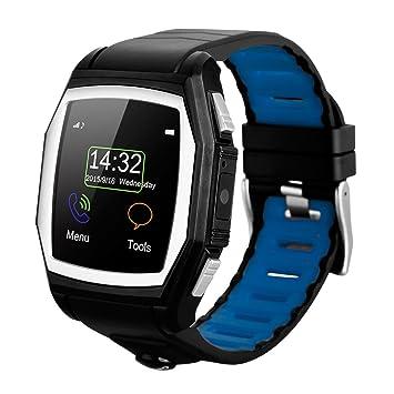 Diggro GT68 - Reloj Pulsera Inteligente GSM Smartwatch (Cámara, Ritmo Cardíaco, SOS, GPS, Llamada Recordatorio, Monitor de Sueño, Compatible Con ...
