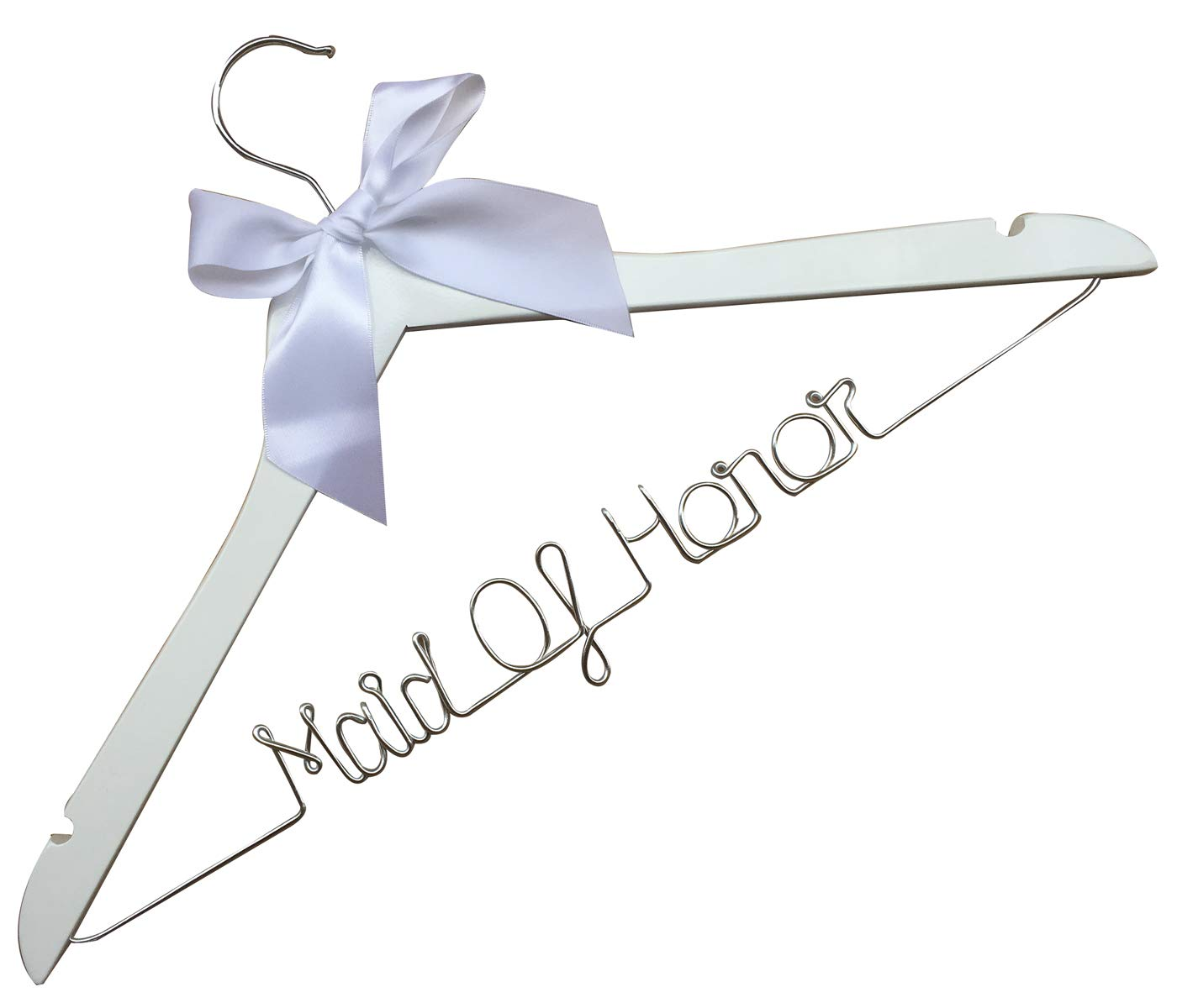 Maid of Honor Personalized Wedding Hangers-Custom Personalized Bridal Dress Hanger Gifts for Bride Mother of the Bride's Gifts gifts for groom etnecklace