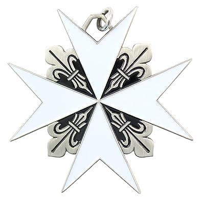 Amazon Maltese Cross Malta Knights Christian Pendant Necklace