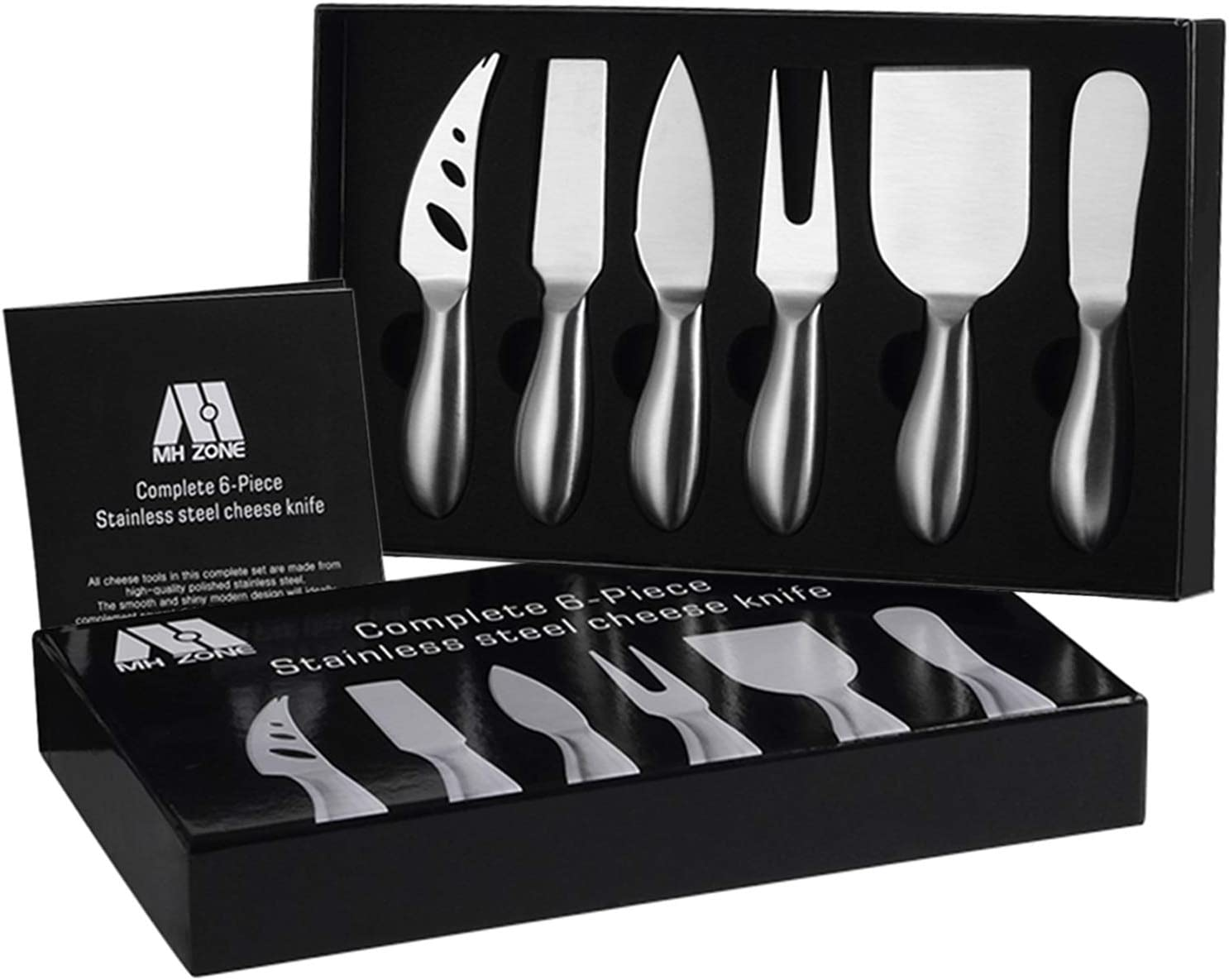 Cheese Knife Set 6 Pieces Stainless Steel Cheese Slicer Cheese Cutter Cheese Knives Gift Knives Sets Collection Suit For The Wedding Lover Elders Children And Friends Perfect Christmas Gifts Amazon Ca Home