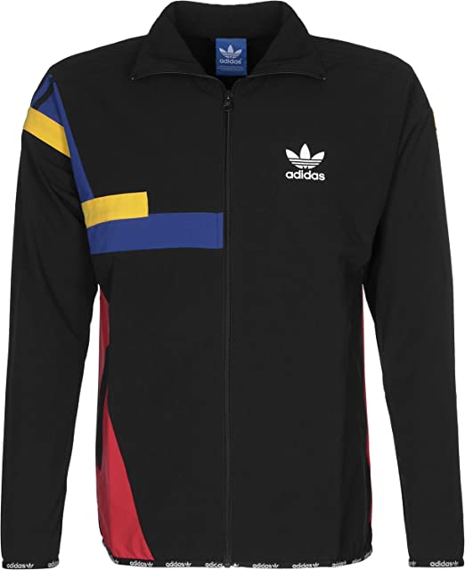 adidas Herren Colorblock Jacke, Black, S: : Bekleidung