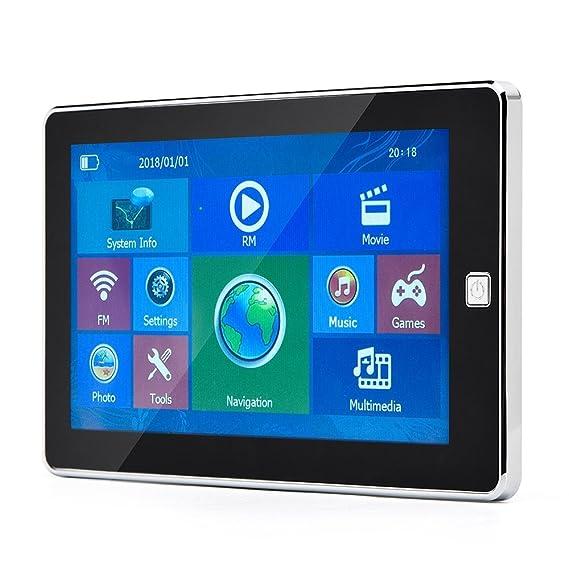 Navegación GPS para Coche HighSound 7 Pulgadas GPS actualizado 8 GB 800 x 480 LCD Pantalla Táctil GPS Sistema de Navegación Multimedia Coche Coche Coche ...