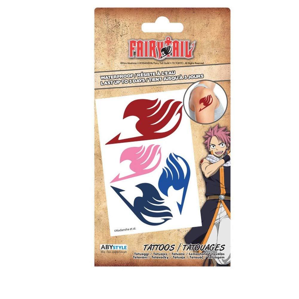 ABYstyle - Fairy Tail - Tatuajes - 15x10 cm: Amazon.es: Belleza