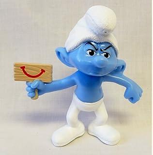 Amazon Com Mcdonalds The Smurfs 2 Baker Smurf 14 Toys Games