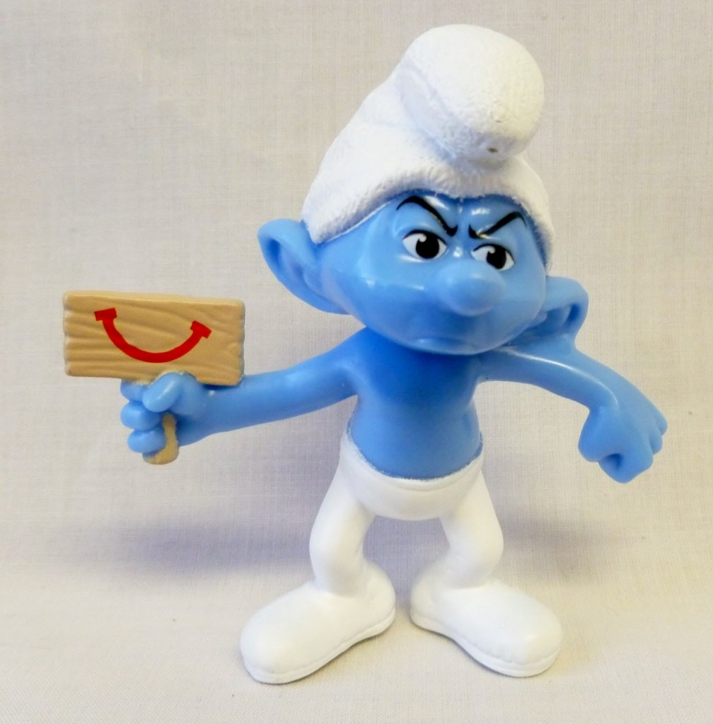 McDonalds - The Smurfs 2 2013 Happy Meal Toy - Grouchy #6