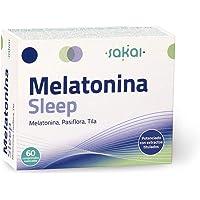 Sakai - Melatonina Sleep, 60 comprimidos masticables. Conciliación rápida del Sueño…