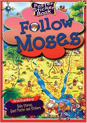 Follow Moses (Poster Sticker Books)