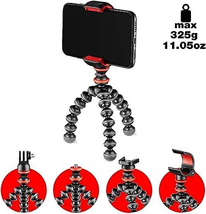 JOBY GorillaPod - Kit Básico Trípode Mini Flexible con Pinza ...
