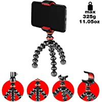Joby GorillaPod Starter Kit Fully versatille Mini Flexible Tripod with Universal Smartphone clamp, GoPro® Mount, Torch Light Mount and Quick Release Plate(JB01571)