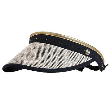 4a5a8e06eb9ff GOLFINO Ladies  golf visor with classy mesh Blue OS  Amazon.co.uk ...