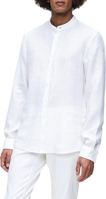Calvin Klein K MW K10K105389 Camisa para hombre 0K4 White: Amazon.es: Ropa y accesorios