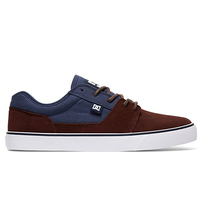 DC Shoes Tonik Sneakers Skateboardschuhe Herren Damen Unisex Erwachsene Navyblau/Schokoladenbraun (Navy/Dark Chocolate)