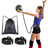 Tomight Volleyball Serving Training Equipment Aid Single Practice for Arm Swing Serve Trainer Beginners with Carry Bag…