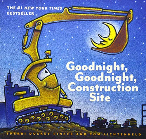 Goodnight, Goodnight Construction Site (Board Book for Toddlers, Children's Board Book) ()
