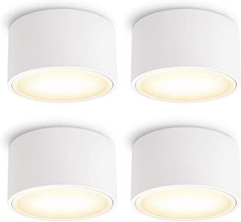 CELI-X Aufbauspot flach LED GX53 3,5W neutralweiß Aufbau Deckenspot rund weiß