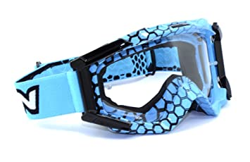 SCORPION - Gafas Moto Cross y Enduro EXO Azul