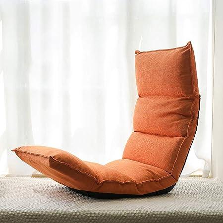 XIBALI Chaise de méditation siège de Sol rembourrée avec Dossier réglable,Chaise Pliable Polyvalente et élégante Facile à Nettoyer,pour Chambre