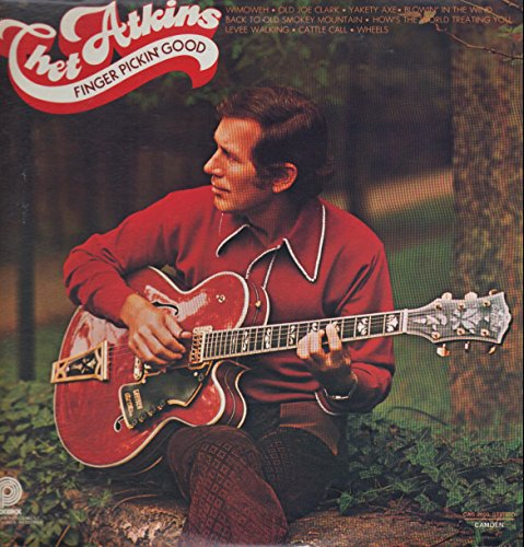 Price comparison product image Chet Atkins: Finger Pickin' Good LP VG++ / NM Canada Pickwick CAS-2600