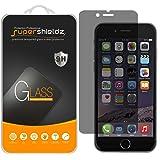 Supershieldz iPhone 6 Plus / 6S Plus Privacy Anti-Spy Glass Screen Protector, [Tempered Glass] Ballistics 0.3mm 9H Hardness Featuring Anti-Scratch, Anti-Fingerprint, Bubble Free - Retail Packaging