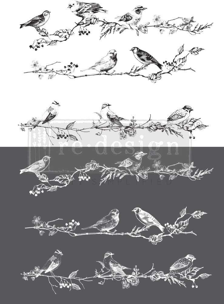 bacche Prima Marketing Inc Conversione per uccelli 86 x 61 cm uccelli e bacche