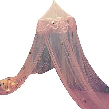 Baldachin Traumhafte Moskitonetz Baldachin Polyester Für Babybett, Mädchen  Schlafzimmer Kinder Prinzessin Spielzelte, Kinderzimmer Dekoration, Hoch  250cm, ...