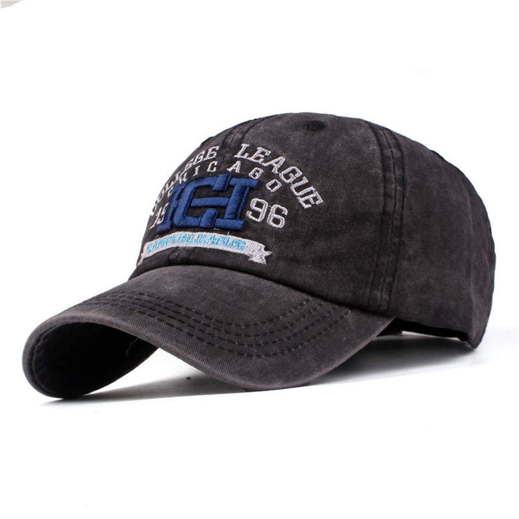 Unisex H/üte Hip-Hop verstellbare Baseballm/ütze verstellbar WUDUBE/_Badeanz/üge Kappe f/ür Herren und Damen Basecap Baseball Cap