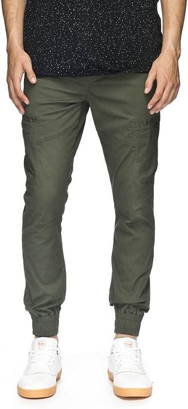 Pantalones Globe – Goodstock Cargo Jogger verde talla: 32 Usa – 42 España (Hombre): Amazon.es: Ropa y accesorios