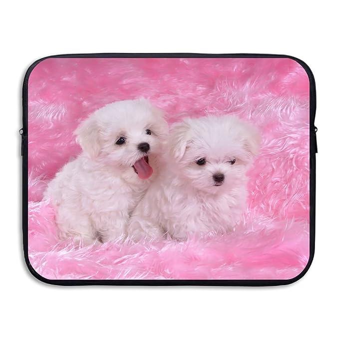 e9e6e4f0a35f Amazon.com: Cute Dog Puppy Notebook Briefcase Laptop Sleeve Bag ...