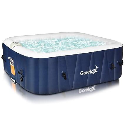 Amazon.com: Goplus - Balneario portátil para 4 a 6 personas ...