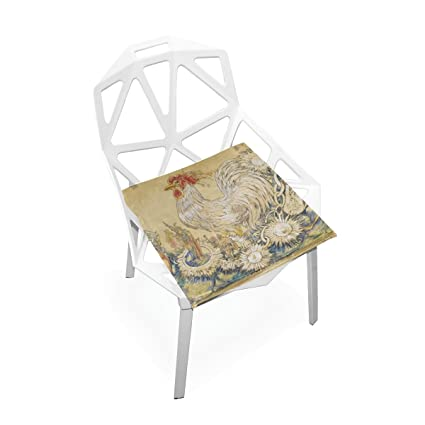 Amazon Com Seat Cushion Chair Cushions Covers Set Cock Painting
