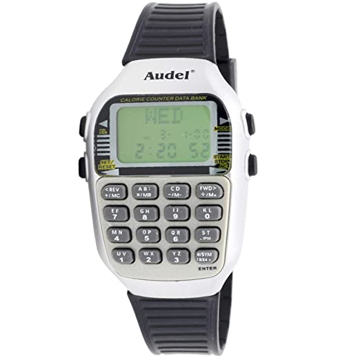 Audel Mc-5101-s Reloj Digital Unisex Caja De Resina Esfera Color Verde: Amazon.es: Relojes