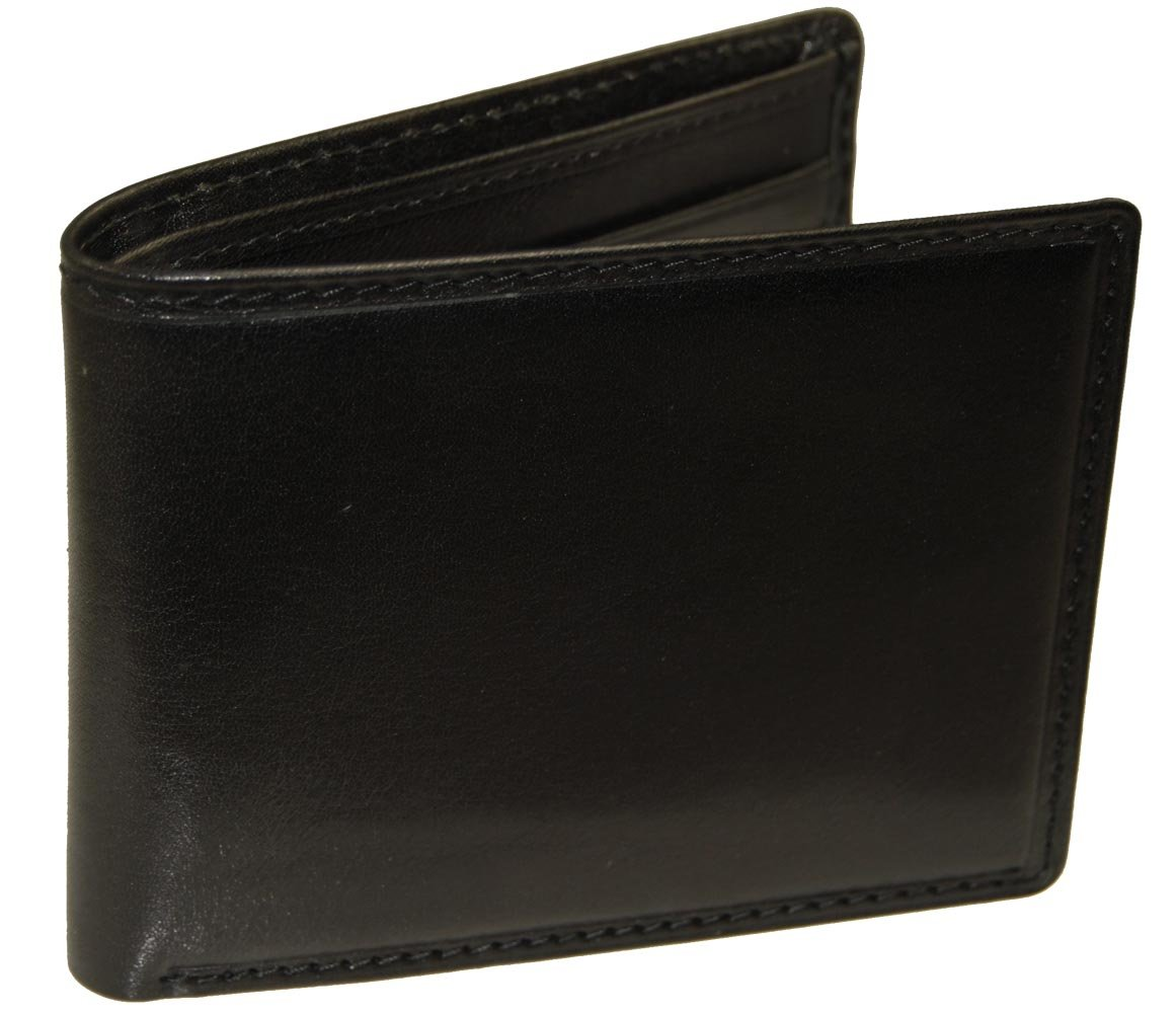 Castello Fine Italian Leather Slim Fold Wallet