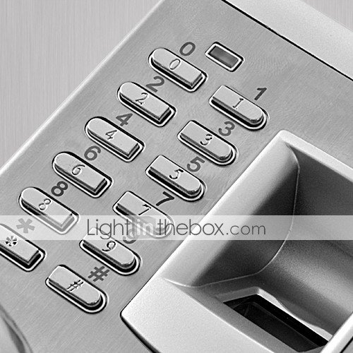 Lightinthebox Touch Premium Biometric Fingerprint and Password Door Lock with Deadbolt for Left Hand Door by LightInTheBox (Image #7)