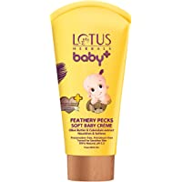 Lotus Herbals Baby+ Feathery Pecks Soft Baby Crème, 50g
