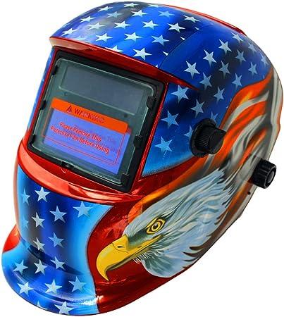 Solar Auto Darkening Electric Welding Helmet Arc Mig Tig Electric Welder Mask