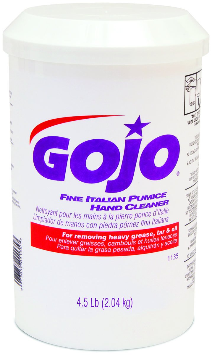 Gojo Hand Cleaner Fine Italian Pumice 4.4 Lb. Fit Mfg No. 1204 Dispenser Plastic Tub