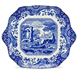 Blue Italian 11'' English Bread and Butter Plate