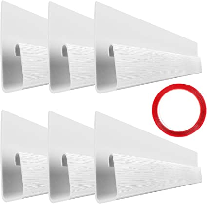 C... 10 White Raceway Channels J Channel Desk Cable Organizers by SimpleCord
