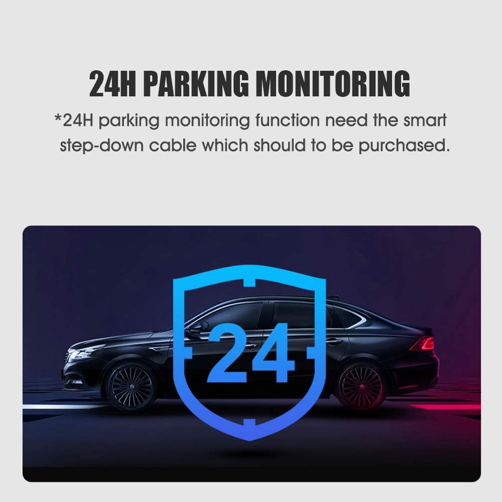 DDPai Mini5 Drive Recorder 4K High Definition Motion Detection 64G Large Storage 5GHz Wi-Fi Car Surveillance Protection Gifts for Vehicles