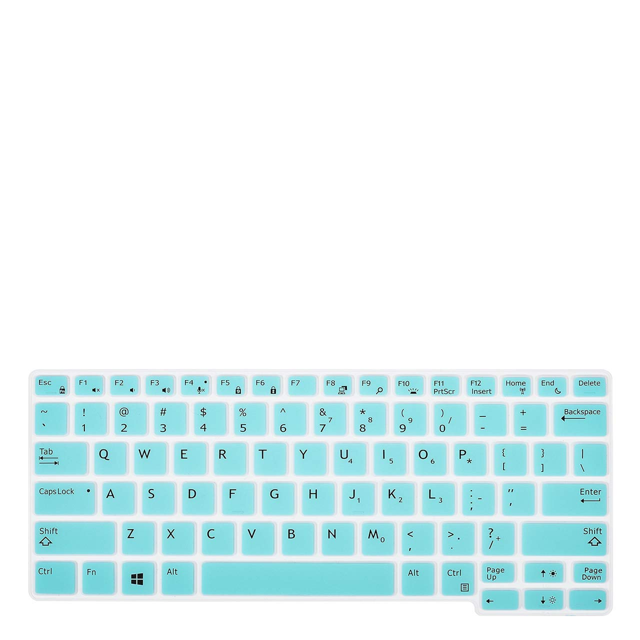 Keyboard Cover Skins Compatible Dell Latitude 12.5 E5250 E7250 E7270 7280 E5270 7290 /& 13.3 Dell Latitude 7370 5224 7390 7380 7389 US Layout,Dell Latitude 12.5 13.3 Laptop Covers