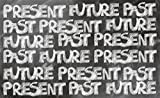 Leowefowa 5X3FT Graffiti Backdrop Hand Paint Present Future Past on Blackboard Abstract Wallpaper Vinyl Photography Background Kids Baby Photo Studio Props