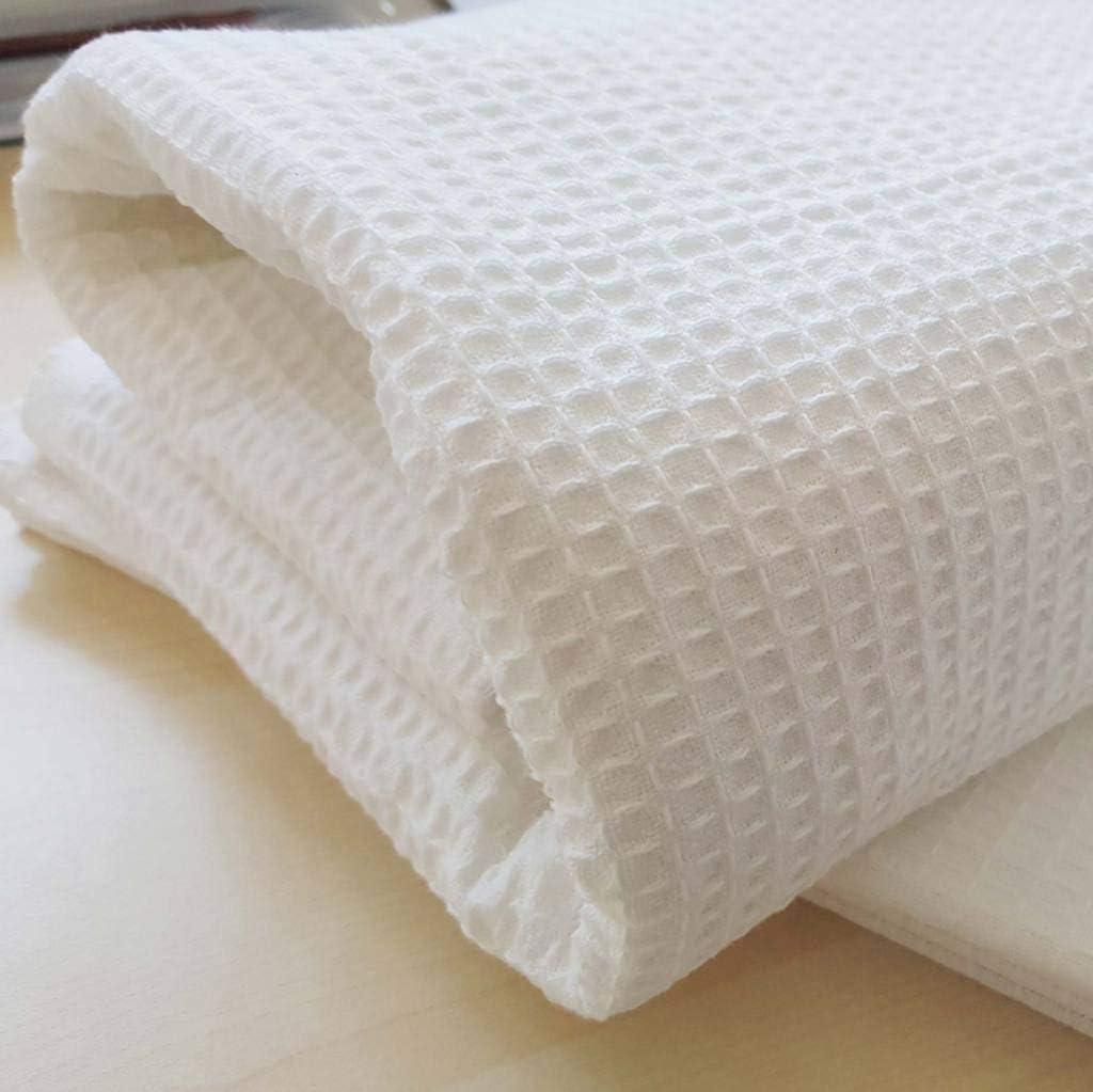 ESTETICA B/&B Hotel Bianco ALBERGO 2 Teli Bagno Nido dApe 100/% Cotone Ospedale Biancheria Bagno Clinica