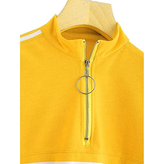 Amazon.com: HYIRI 2018NEW Long Sleeve Sweatshirt,Fashion Casual Womens Jumper Pullover Strapless Blouse: Clothing