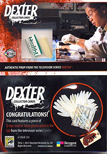 Dexter the Television Series Prop Card Q-Tip/Latex Gloves DC-P VL from Showtime