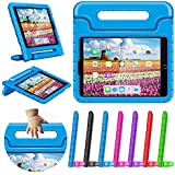 """Greatgo Tablet Case Compatible with iPad 9.7in Air 1 Air 2 5th 6th Generation Shockproof Childproof Lightweight Convertible Handle Stand iPad Cover Case for 6th 5th Generation 9.7"""" Air Case Blue"""