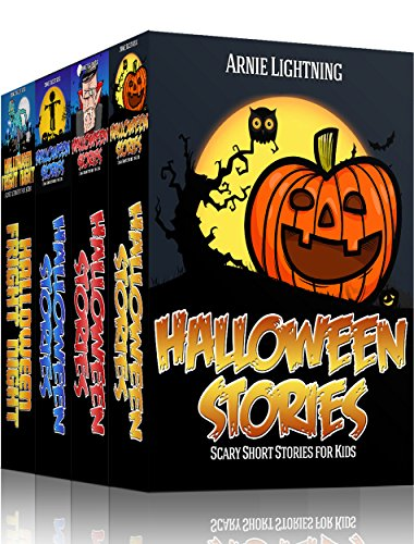 Halloween Stories (4 Books in 1): Spooky Halloween Stories for Kids, Halloween Jokes, and Activities (Haunted Halloween Fun Book 2)]()