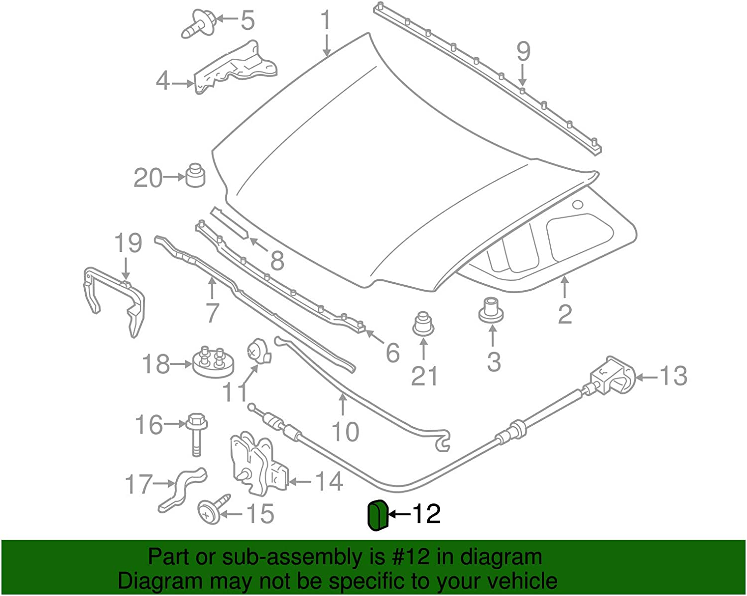 5L8Z-16828-AA OEM New Genuine Ford Retainer Special 5L8Z16828AA