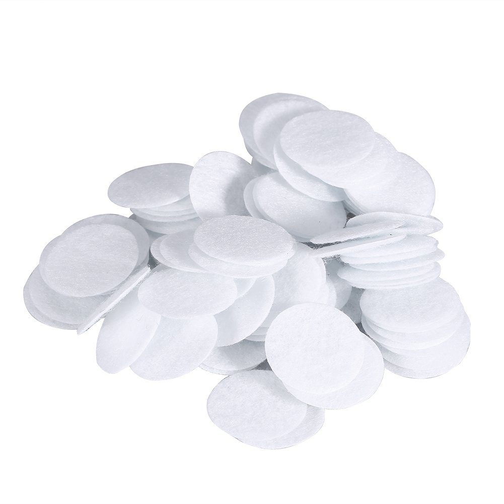 Cotton Filters, 100pcs New Cotton Filter Round Filtering Pads For Blackhead Removal Beauty Machine(#1) Filfeel