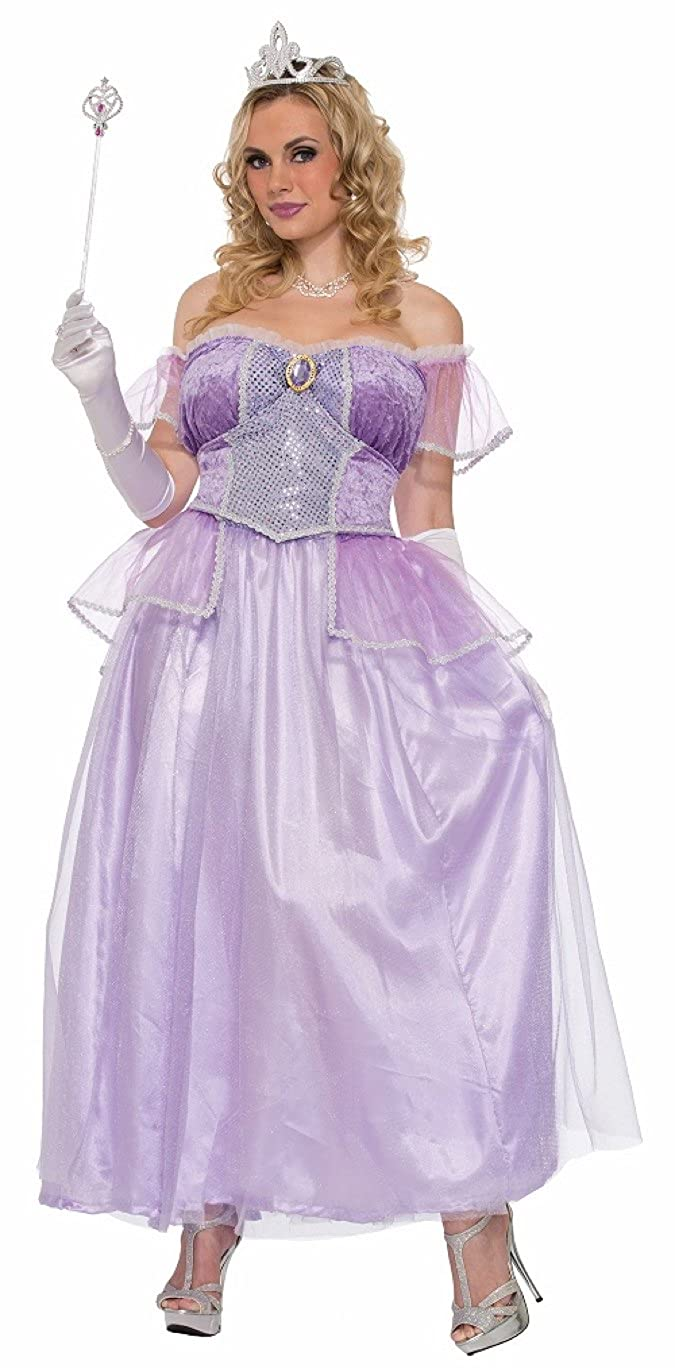 Amazon.com: Forum Women\'s Storybook Princess Costume, Light Purple ...